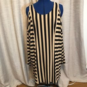 Zenergy Chico's | Striped Tunic XL
